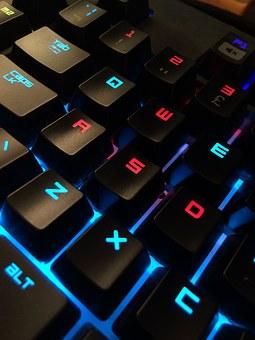 tangentbord gamer